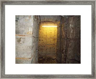 Hunthall Stone Doorway Framed Print