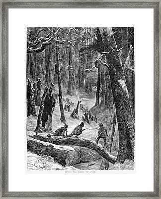 Hunting, 1872 Framed Print by Granger