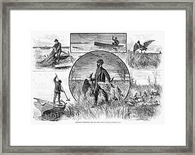 Hunting Cruelty, 1880 Framed Print by Granger