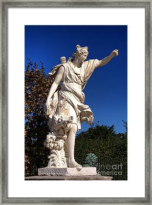 Hunting Diana Framed Print by Olivier Le Queinec