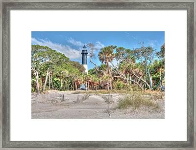 Hunting Island - Beach View Framed Print by Scott Hansen