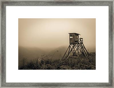 Hunting Tower Framed Print by Mah FineArt