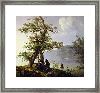 Hunting Waterfowl Framed Print