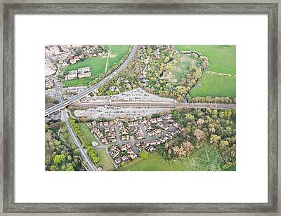 Huntingdon Railway Station Framed Print by Tom Gowanlock