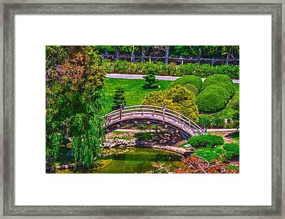 Huntington Library Ca Framed Print
