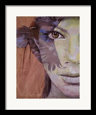 Huntress Framed Prints