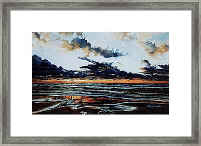 Huron Framed Print