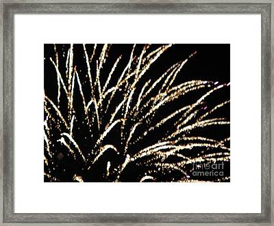 Huron Ohio Fireworks 9 Framed Print by Jackie Bodnar