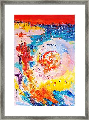 Hurricane 1 Framed Print
