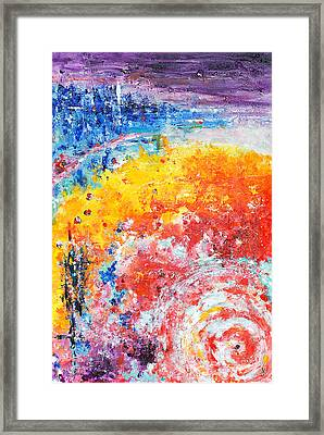 Hurricane 2 Framed Print
