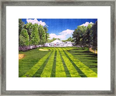 Hurricane Andrew Memorial Framed Print by Kevin F Heuman