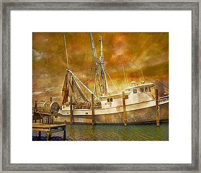 Hurricane Eve Framed Print by Betsy Knapp