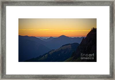 Hurricane Hill Framed Print