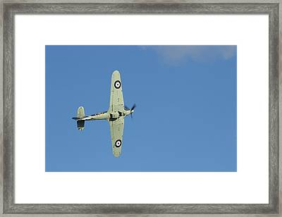 Hurricane In Action Framed Print by Donald Turner