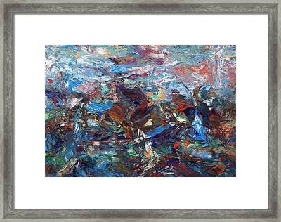 Hurricane Framed Print by James W Johnson
