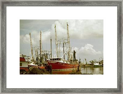 Hurricane Katrina Aftermath Framed Print by Belinda Lee