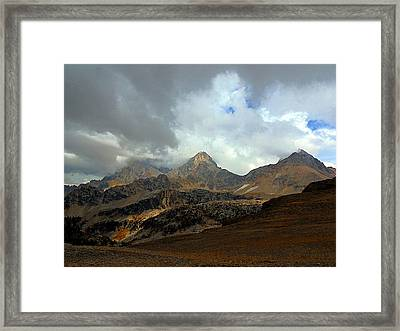 Hurricane Pass Framed Print
