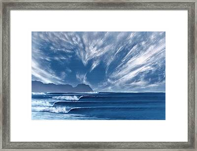 Hurricane Point Framed Print