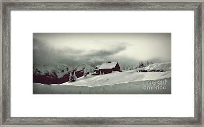 Hurricane Ridge By Steve Strand Framed Print