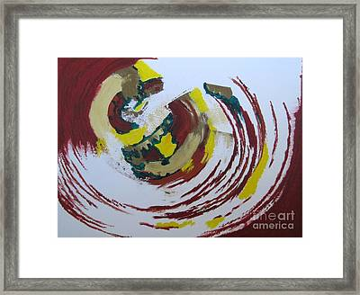 Hurricane Framed Print