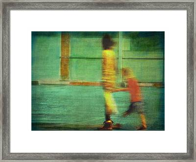 Hurry Child Hurry  Framed Print