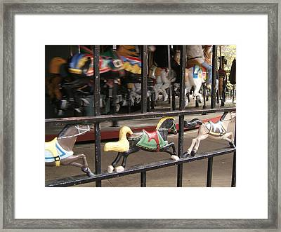 Framed Print featuring the photograph Hurry Hurry by Barbara McDevitt