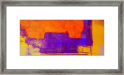 Hurry Sundown Framed Print
