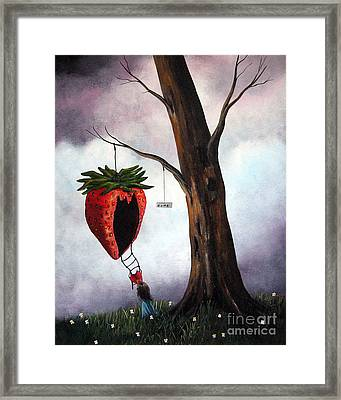 Hurry The Storm Is Coming By Shawna Erback Framed Print