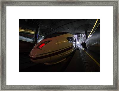 Hurry Up Framed Print by Pablo Lopez
