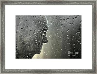 Hurt Framed Print by Annie Lemay