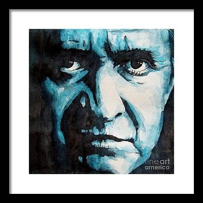 Johnny Cash Framed Prints