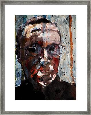 Husdant Portrait Framed Print