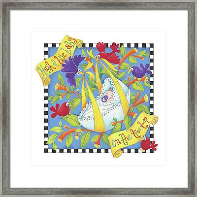Hush Little Baby Framed Print by P.s. Art Studios