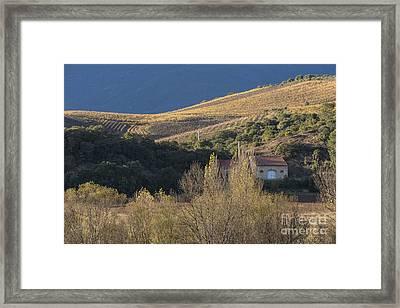 Hut Framed Print by Iksung N