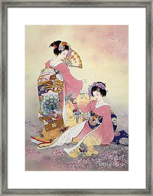 Hutari Mai Framed Print by Haruyo Morita