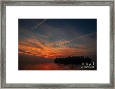Hutchinson Island Sunrise Framed Print by Scott Thorp