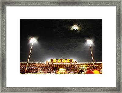 Hutto Hippo Stadium Framed Print