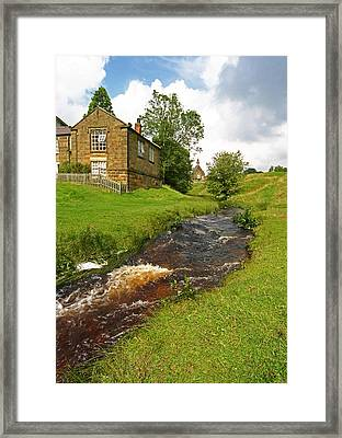 Hutton Beck 2 Framed Print by John Topman