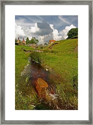 Hutton Beck  Framed Print by John Topman
