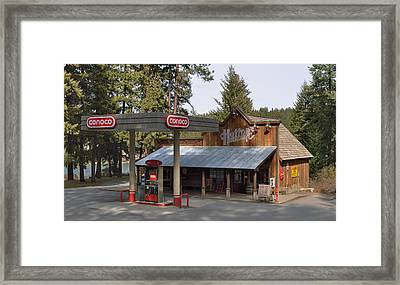 Huttons General Store Framed Print