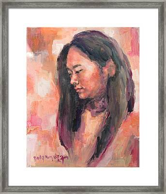 Hwajin Framed Print