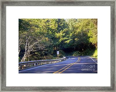 Hwy 101 North Framed Print by Chris Anderson