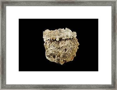 Hyalite Opal Framed Print by Science Stock Photography
