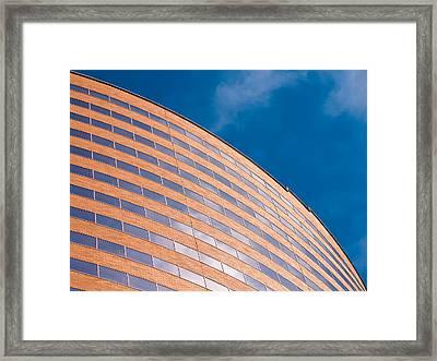 Hyatt Regency Arc Framed Print by Rob Amend