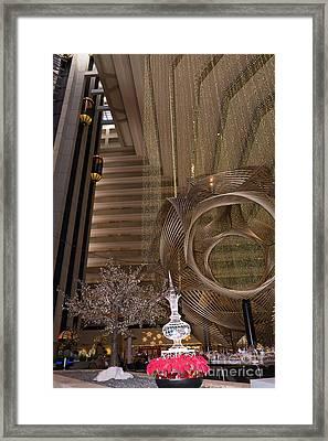 Hyatt Regency Hotel Embarcadero San Francisco California Dsc1975 Framed Print by Wingsdomain Art and Photography