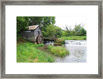 Hyde Mill Framed Print by John Kunze