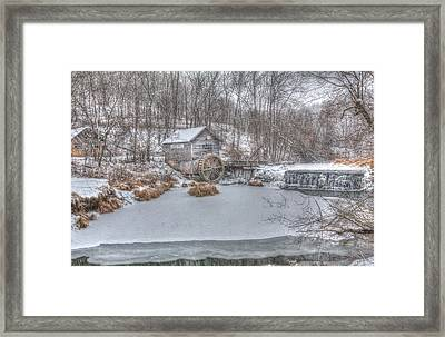 Hyde Mill Framed Print