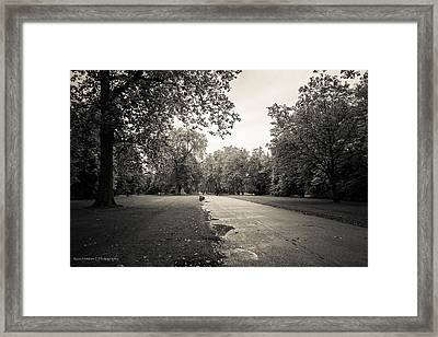 Hyde Park - For Eugene Atget Framed Print