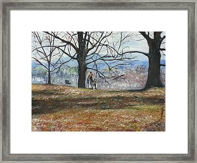 Hyde Park Ny Framed Print