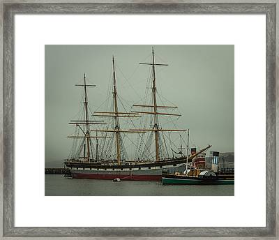 Hyde Park Pier Framed Print